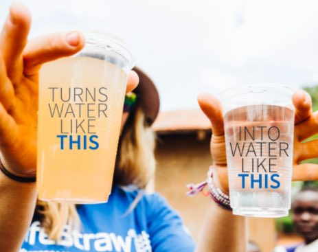 Lifestraw Go Reusable Personal Filter Water Bottle changes the water quality dramatically